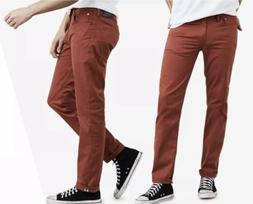 NWT Levis 511 Commuter Slim Fit Red Stretch Jeans Scotchlite