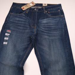 NWT LEVIS 527 Slim Bootcut Mens Blue Jeans 34x30 NWT NEW 97