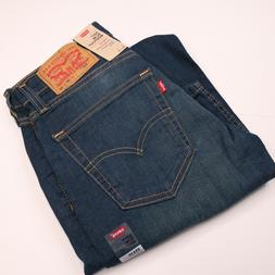 NWT LEVIS 527 Slim Bootcut Mens Blue Jeans 29x30 NWT NEW Str