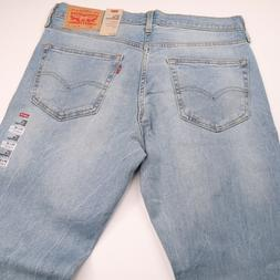 NWT LEVIS 527 Slim Bootcut Mens Blue Jeans 34x32 NWT NEW STR