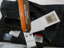 """LEVIS 569 Loose Straight Blue Jeans Men's Size Red Tab 38""""X"""