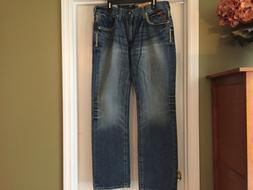 NWT Ariat M5 Slim Fit Straight Leg Men's Jeans Size 36 x34