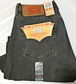 b9683ad2 Editorial Pick NWT MEN LEVI'S 501 -2495 ORIGINAL BUTTON FLY STRAIGHT BLAC