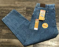 NWT Wrangler Men's 44X30 Advanced Comfort Blue Jeans 4 Way S