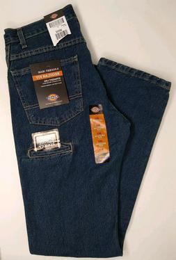 NWT Men's Dickies 6-Pocket Regular Fit Straight Leg Jean Siz