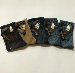 NWT Wrangler Men's Fashion Slim Fit Straight Leg Denim Jeans
