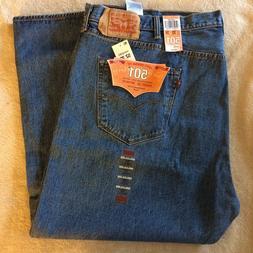 104ca238 NWT Men's Levi's 501 Big Tall Original Straight Leg Button F