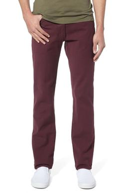 NWT Men's Levi's 511 Slim Winetasting Burgundy Red Stretch D