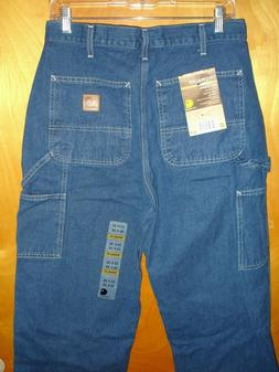 NWT! Men's Carhartt Loose Original Fit Work Dungaree Jeans B