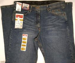 NWT Men's Wrangler Performance Series Relaxed Fit Jeans 34x3