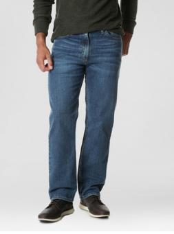 NWT - Wrangler Men's Regular Fit Straight Leg Jeans w 4-Way