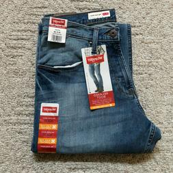 NWT Wrangler Men's Relaxed Bootcut Jeans Denim Pants Low Wai