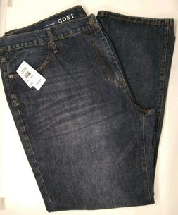 NWT Men's IZOD Relaxed Fit Jeans Size 50 x 34 Medium Vintage