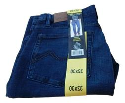New Men's Urban Star Relaxed Fit Stretch 5 Pocket Jeans