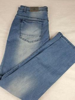 NWT Free Planet Men's Stretch Blue Jeans Style FU9P10MTLYF5