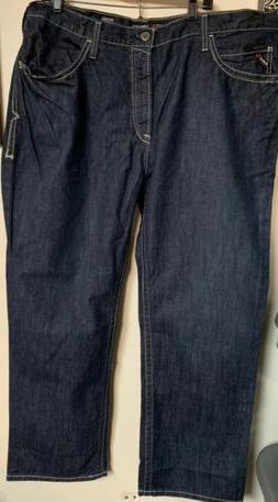 NWT Mens Ariat FR Flame Resistant Work Jeans M4 Low Rise Boo