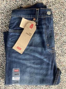 NWT Men's Levi's 510 Skinny Stretch Dark Blue Jeans Size 3