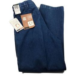 NWT Haggar Q Mens 34x30 Work Weekend Jeans Wrinkle Free Expa