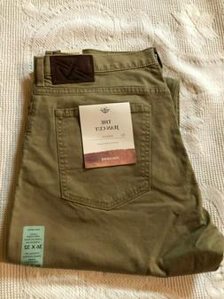 NWT Dockers The Jean Cut Athletic Fit Stretch Light Brown Me