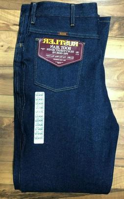 NWT Vintage Wrangler Rustler Bootcut Jeans Mens 36 x 32 Dark
