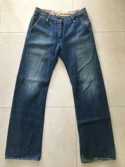 Rogan NYC Men Jeans Original Jean Heavy Denim 14 oz Mid Blue