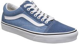 Vans Mens Old Skool Denim 2 Tone Blue True White Size 8.5