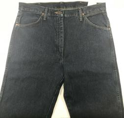 Wrangler Original Fit Cowboy Cut Jeans for Men's 34x38 Blue