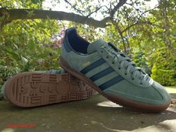Adidas Originals Boys Mens Jeans Fashion Trainers Green BNIB
