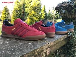 Adidas Originals Boys Mens Jeans Fashion Trainers Red Blue B