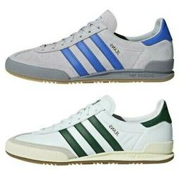 adidas ORIGINALS DEADSTOCK JEANS TRAINERS WHITE GREEN GREY S