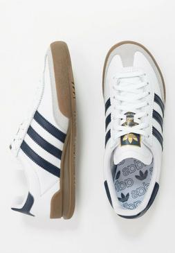 Adidas Originals Jeans Mens White Navy Brown Shoe Trainer Sn