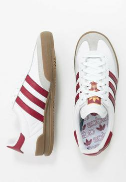 Adidas Originals Jeans Mens White Red Brown Shoe Trainer Sne