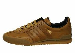 Adidas Originals Jeans MKII Low Brown Leather Lace Up Mens T