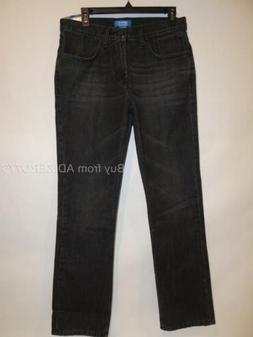 Adidas Originals Slim Denim Mens Jeans M69214 Worn Black col