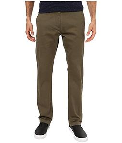 Dockers Men's Pacific Washed Khaki Slim Tapered Pant, Olive,