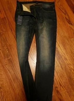 Pd&c Slim Fit Stretch Jeans Men's Size 32 X 32 dark