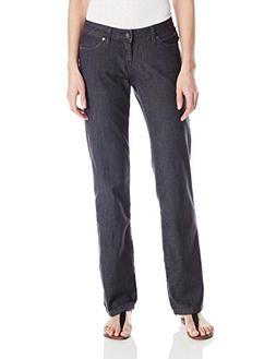prAna Living Jada Jean Organic with Reg Inseam, Denim, 8