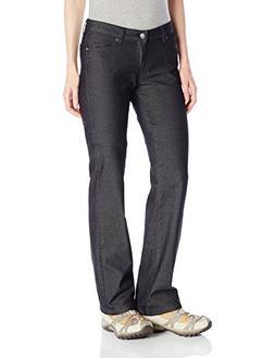 prAna Women's Jada Jean Organic - Tall Inseam Pant, Black, S