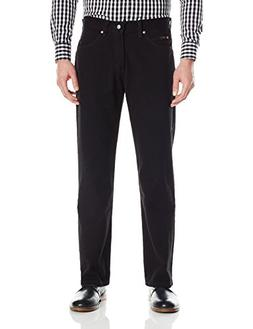 LEE Men's Regular Fit Bootcut Jean, Double Black, 30W x 34L