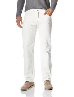 Quality Durables Co. Men's Regular Fit Jean 36 x 30 White