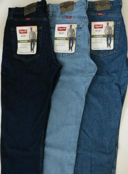 Wrangler Regular Fit Jean Five Star Mens - Size Big and Tall