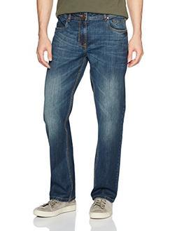 Comfort Denim Outfitters Men's Regular Fit Jeans 30Wx32L Dar