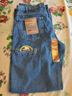 DICKIES REGULAR FIT STRAIGHT FIT 6 POCKET JEANS 34 × 32 NEW
