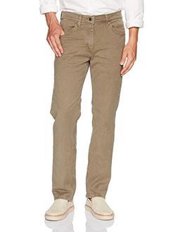 LEE Men's Regular Fit Straight Leg Jean, Cargo, 42W x 32L