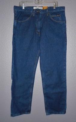 Lee Men's Regular Fit Straight Leg Jean, Dark Stone, 34W x 3