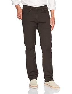 LEE Men's Regular Fit Straight Leg Jean, Tobacco, 30W x 32L