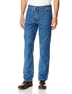 LEE Men's Regular Fit Straight Leg Jean, Pepperstone, 36W x