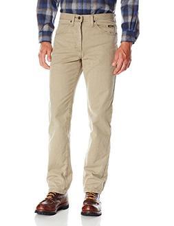 Lee Men's Regular Fit Straight Leg Jean, Wheat, 36W x 29L