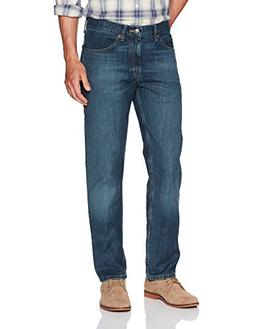 LEE Men's Regular Fit Straight Leg Jean, Silo, 32W x 32L