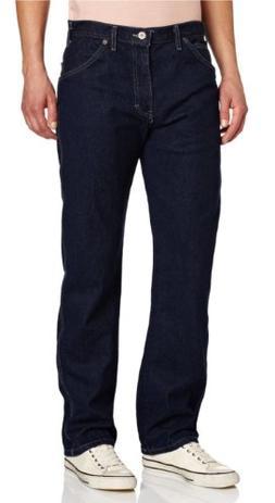 Dickies Men's Regular Straight Fit 6 Pocket Jean, Rinsed Ind